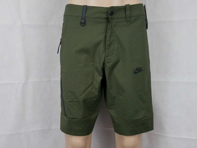 b43d728fe0 Mens Nike Sportswear Bonded Lifestyle Shorts 823365-325 Cargo Khaki Sz 32