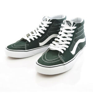 8bfe214f7c Vans SK8-HI Men s Size 9.5 (Women s 11) Scarab True White Green ...