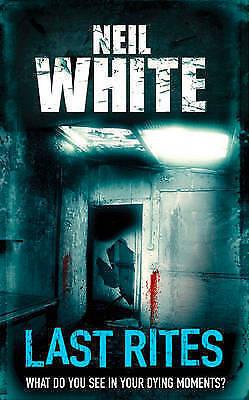 """AS NEW"" Last Rites, White, Neil, Book"
