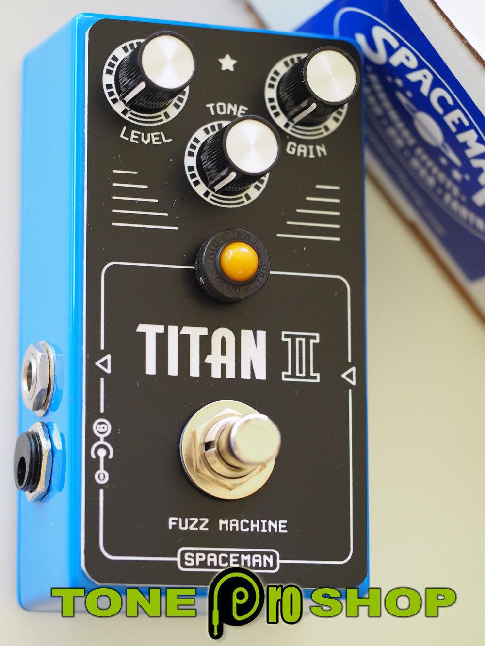 Spaceman Titan II Fuzz - Blau Edition