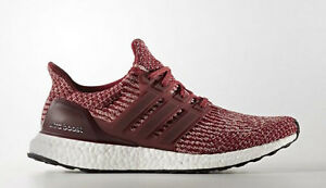 e183dc3d44c Adidas Ultra Boost 3.0 size 8. Collegiate Red White Burgundy Maroon ...