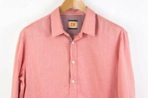 Hugo-Boss-Hombre-Cliffe-Camisa-Informal-Talla-XL-TZ600