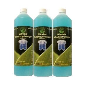 3 Litres Solution nettoyage Recharge pour cartouches de rasoir station BRAUN CCR