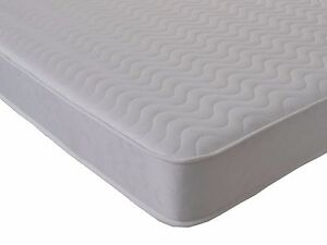 the best attitude fb694 1d1f1 Details about 3FT SINGLE Cooltouch MEMORY FOAM QUILTED with springs  MATTRESS 90cm by 190cm