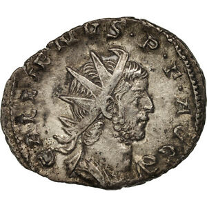 Lyons Billon Antoninianus Buy Cheap Au #411614 50-53 Gallienus Ric:44