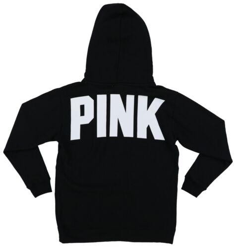Victoria/'s Secret Pink Hoodie Pullover Sweatshirt Sherpa Lined Jacket Nwt New