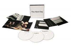 DAVID-BOWIE-THE-NEXT-DAY-EXTRA-2-CD-DVD-INTERNATIONAL-POP-NEUF