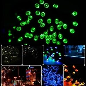 55' - 55 ft Bright GREEN LED Party Lights Pool Porch Patio Gazebo Deck Dock
