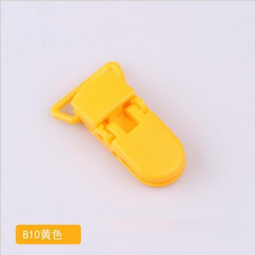 DIY 10pcs Baby Safe Dummy Plastic Pacifier Clip Holder Soother  DIY  Making