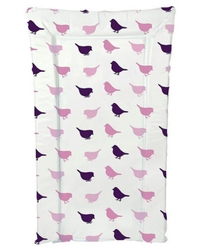 Brand new Kit for kids changing mat in lilac bird in pink and lilac large size