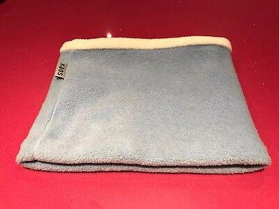 Amichevole Kaos 50cm Collo Polsino In Baby Blu/bianco In Poliestere-mostra Il Titolo Originale Paghi Uno Prendi Due