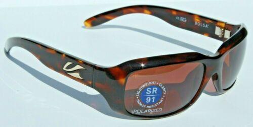KAENON Bolsa Sunglasses POLARIZED Womens Tortoise//C12 Copper NEW