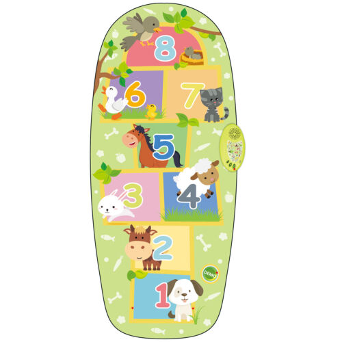 ELECTRONIC ANIMAL HOPSCOTCH TOUCH MUSICAL KIDS PLAY MAT EDUCATIONAL FUN PLAY TOY