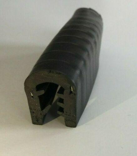Kantenschutzprofil EPDM Dichtung Kantenschutz Klemmung 1-6mm 5 m Bund schwarz