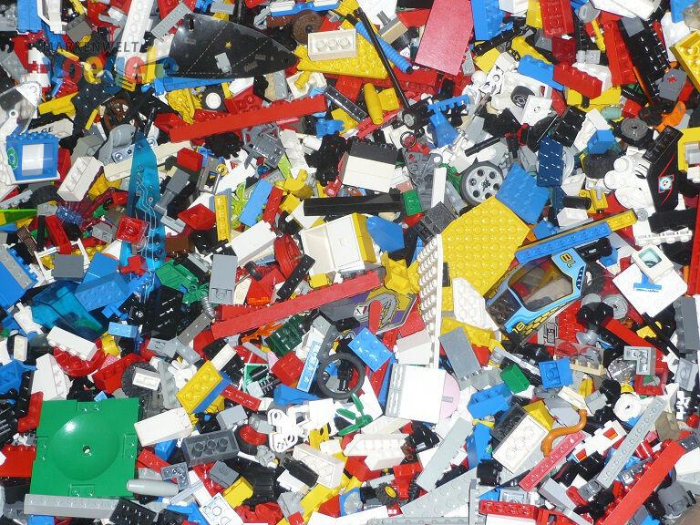 ( /kg)  3 kg  LEGO® ca.2000 Teile Steine, Platten, Räder LEGO Kiloware