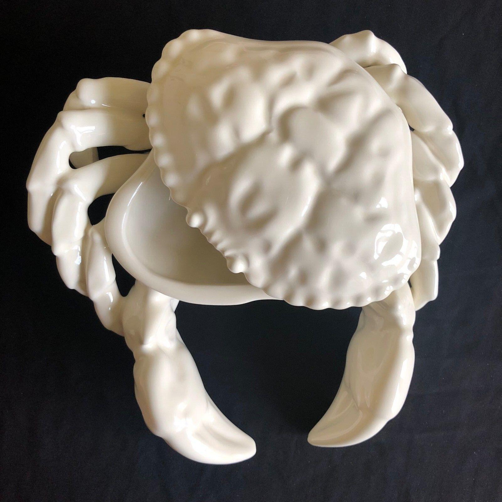Oscar de la Renta Shell crabe condiment Server Moderne Décoration Maison Salle à Manger Cuisine