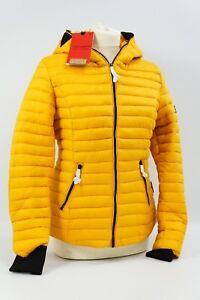 Schatz als seltenes Gut zuverlässiger Ruf gute Textur Details zu Navahoo Damen Jacke Steppjacke Übergangsjacke gesteppt Kimuk  Gelb Gr M L #509