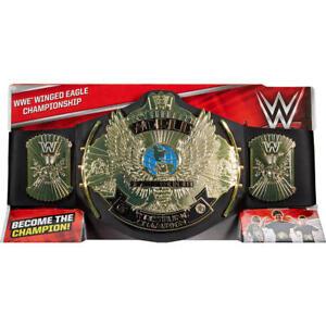 WWE-Mattel-Winged-Eagle-World-Champion-Guertel-ORIGINAL-TOY-BELT-AUF-LAGER