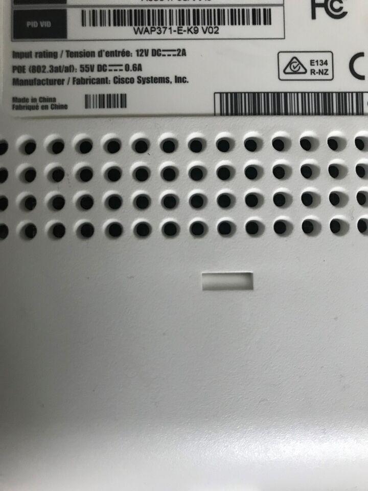 Access point, wireless, CISCO wap371 e k9 v02