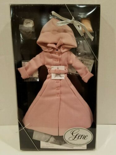 Ashton Drake Gene Doll Rain Song Outfit NIB NRFB COA Pink Coat with Hood