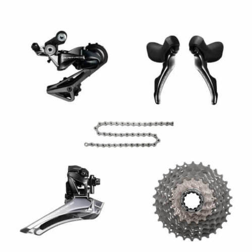 Shimano Dura Ace Group R9100 9100 11s Kit//Groupset 5pc