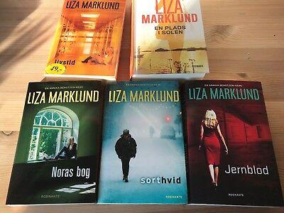 Dejlig Find Liza Marklund Sort Hvid i Bøger og blade - Køb brugt på DBA UN-37