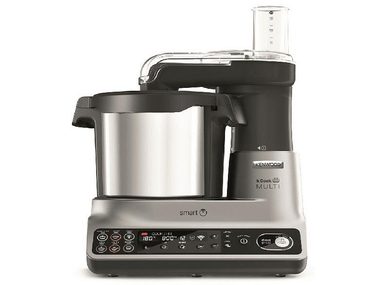 Robot de cocina - Kenwood kCook Multi Smart CCL450SI, 2.6 L,