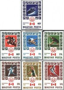 Ungarn-3125A-3131A-kompl-Ausg-postfrisch-1976-Olympische-Sommerspiele-1976