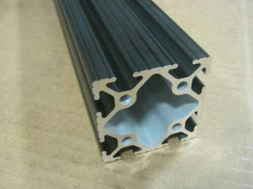80//20 Inc 2 x 2 T-Slot Aluminum Extrusion 10 Series 2020 x 12 Black H1-1