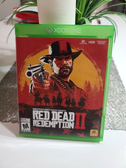 Red Dead Redemption 2 - Xbox One Standard Edition / MAP NOT INCLUDED
