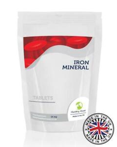Iron-Mineral-14mg-30-Tablets-Pills-Supplements-Hemoglobin