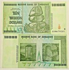 10 20 100 9 x 50 TRILLION ZIMBABWE DOLLAR MONEY CURRENCY UNC.