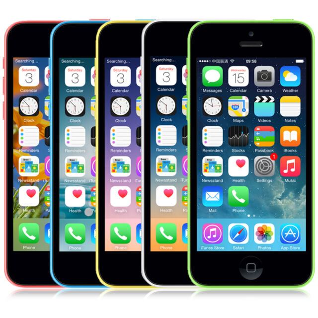 Apple iPhone 5c 16/32GB Factory Unlocked Mobile Smartphone - Various Colours