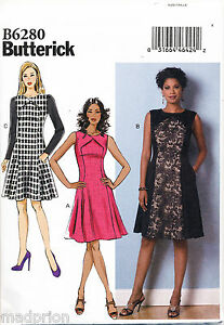 Butterick 6280 Misses/'//Miss Petite Dress  Sewing Pattern