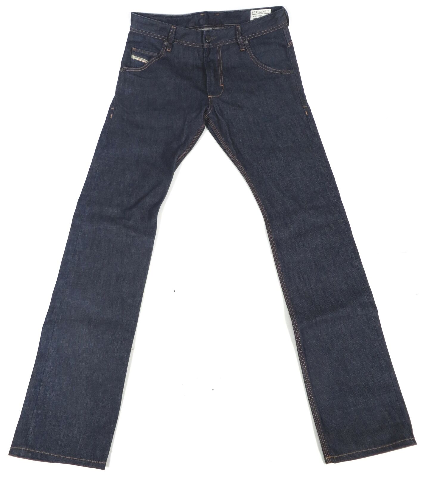 Diesel Turbo Krooley Regular Slim-Carred Designer Jeans 29W 32L Wash 008QM