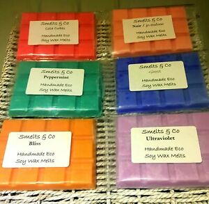 HIGHLY-SCENTED-Wax-Melt-Bars-Vegan-Friendly-Soy-Wax-BUY3-GET-1-FREE-P-amp-P