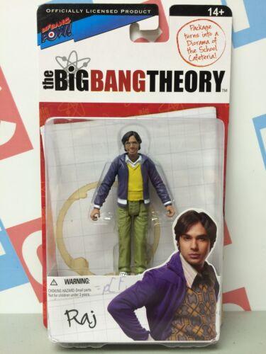 CBS Big Bang Theory Series 1 Raj Chiffre d/'action et environnement Bif Bang Pow