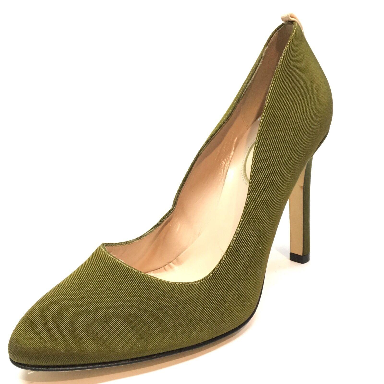 New SJP by Sarah Jessica Parker Lady femmes Olive Pumps Heels Taille 35.5 M