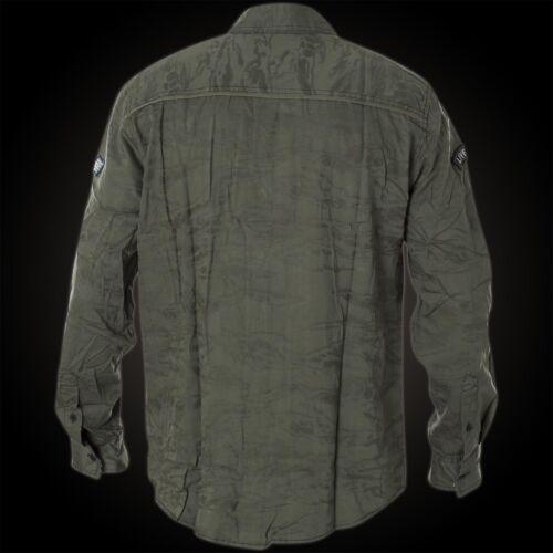 Affliction Camicia Top Notch camicie VERDE