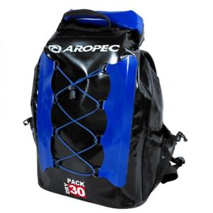 Aropec Coastal Dry Pack 30 L Imperméable Voyage Sac À Dos Bleu//Noir