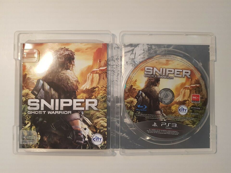 Sniper - Ghost Warrior, PS3