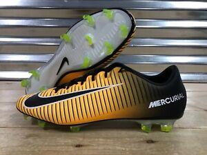 c8b7f2006 Nike Mercurial Veloce III 3 FG Soccer Cleats Laser Orange Blck SZ ...