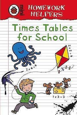 """AS NEW"" Ladybird,, Ladybird Homework Helpers: Times Tables for School Book"