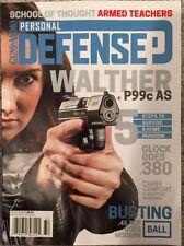 Guns And Ammo Personal Defense Walther Busting November 2015 FREE SHIPPING!