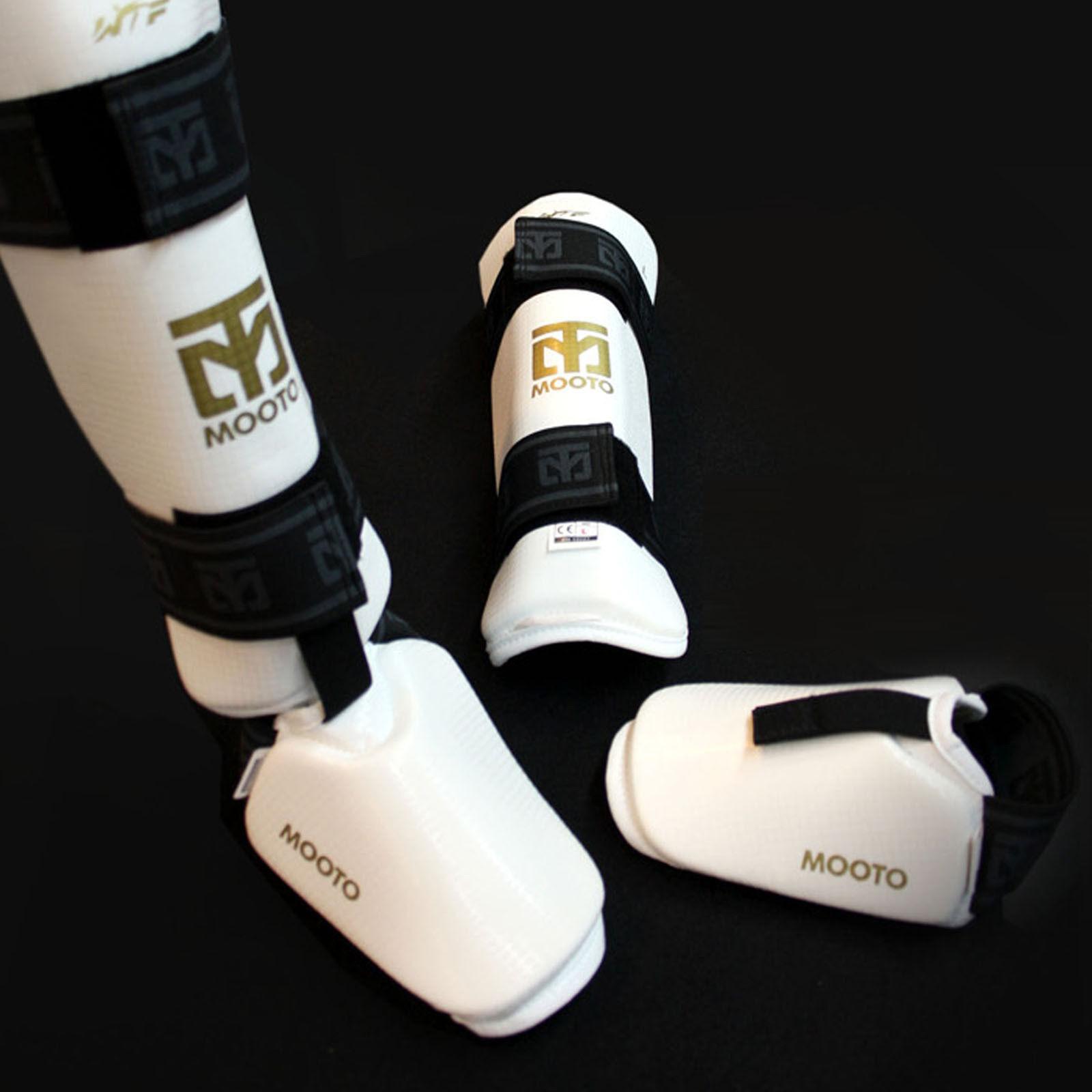 Shin Instep Predectors Guards Mooto TKD HKD Tae Kwon Do  Hapkido Martial Arts MMA  new branded