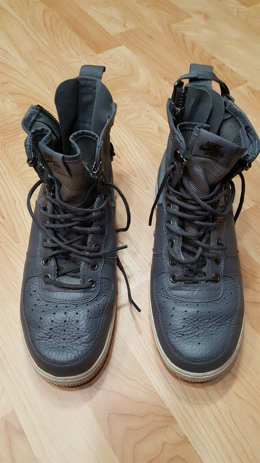 Men's SF AF1 Mid Special Force Air Force 917753 004 Dark Grey SZ 9 shoes EUC