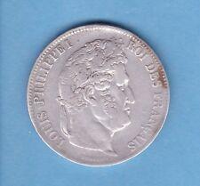 ( RF.29)  5 FRANCS LOUIS PHILIPPE 1839 D (LYON)  TTB- RARE