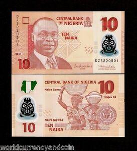 NIGERIA 100 Naira Banknote World Paper Money UNC Currency Pick p28k 2011 Bill