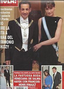 Hola-Magazine-Nicolas-Sarkozy-Carla-Bruni-Salma-Hayek-Wedding-Charlie-Sheen-2009