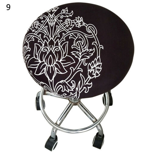 New Round Chair Cover Bar Stool Cover Elastic Seat Cover Home Chair Slipcover
